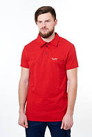 Футболка Feel&Fly Polo, красная, магазин мужской одежды