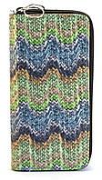 Разноцветный лаковый горизонтальный женский кошелек на молнии Б/Н art. 2-01