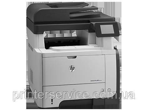 Цветное лазерное МФУ HP LaserJet Pro M521dn (А4, 40стр / мин, факс, сетевой, Duplex, ADF)