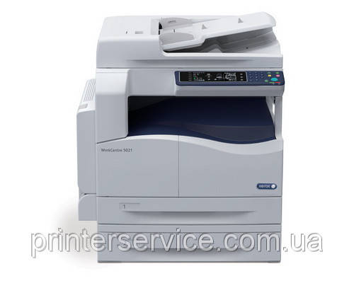 Черно-белое МФУ Xerox WorkCentre 5021D принтер, сканер, копир, формата А3