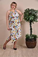 Платье женское цветное арт 0258-3 (42-74)