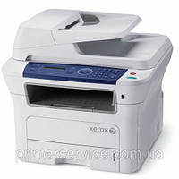 Xerox WorkCentre 3210N, ч/б МФУ 4в1  (A4, 28 стр/мин, факс, ADF, USB2.0, сетевой), фото 1