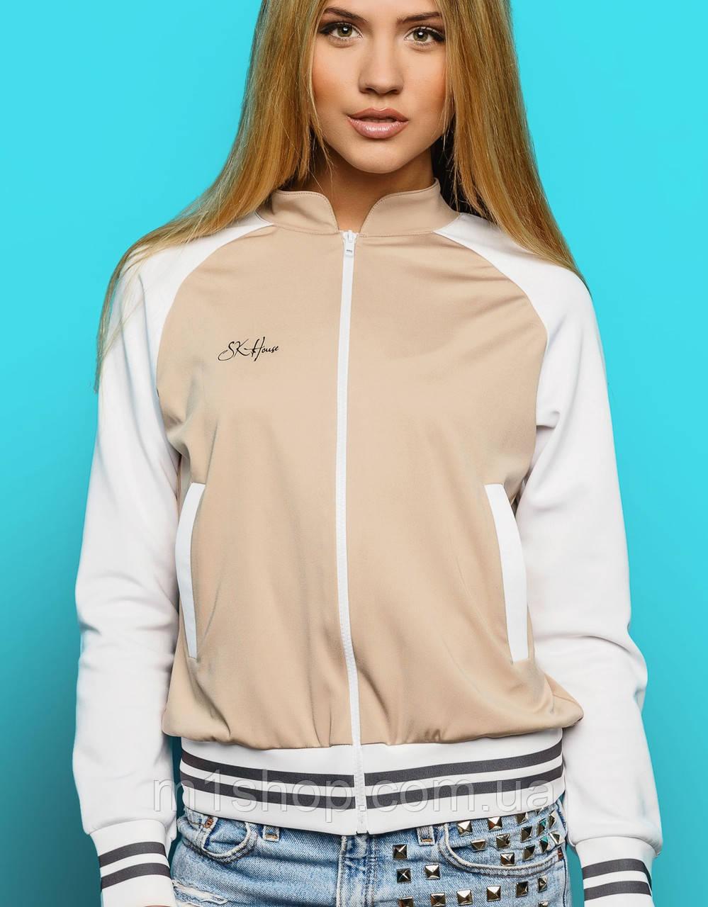 Легкая женская куртка-кофта на молнии (Houston sk)