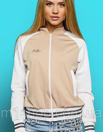 Легкая женская куртка-кофта на молнии (Houston sk), фото 2
