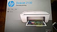 МФУ цветной печати принтер HP DeskJet 2130 3 в 1