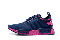 Кроссовки Adidas Originals NMD Runner Primeknit Navy Purple женские