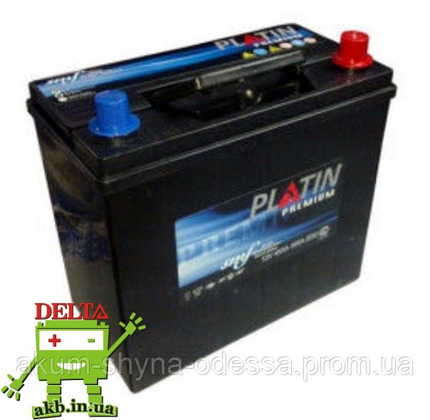 Аккумулятор PLATIN Premium JP 6CT- 42Ah 370A L SMF тонкая клема