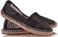 Летняя женская обувь,балетки, туфли, туфли, на плоской подошве от производителя  черные