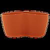 Вазон Кактусник для 2 растений 0.9л