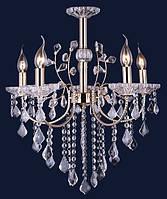 Люстра подвесная классическая Levistella 7022067-5 золото