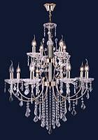 Люстра подвесная классическая Levistella 7022067-8+4 золото
