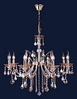 Люстра подвесная классическая Levistella 7026108-8 золото