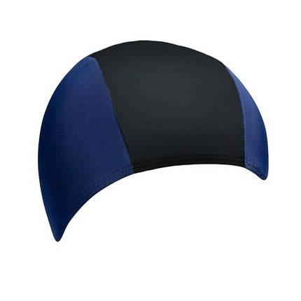 Тканевая шапочка для плавания BECO синий/чёрный 7728 60, фото 2
