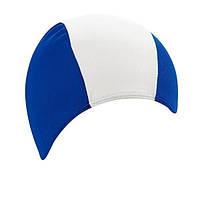 Тканевая шапочка для плавания BECO синий/белый 7728 61