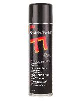 Аэрозольный Клей Спрей 3М Scotch-Weld™ Super 77 для Фольги Ткани Поролона Кожи Пластика Резины Пленки 500мл