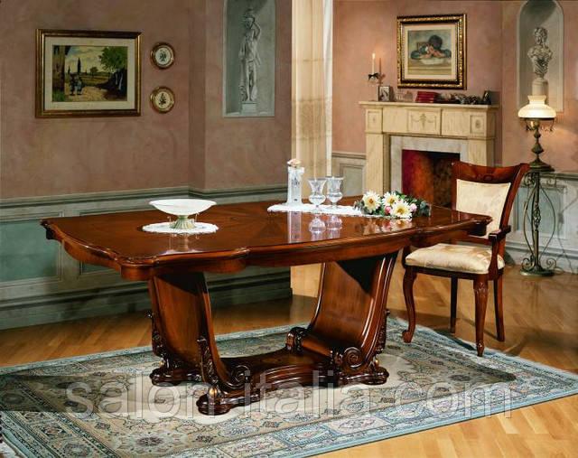 Стіл обідній, креденс Barocco Noce, Виробник Fr.lli Pistolesi (Італія), Стол обеденный, Креденс