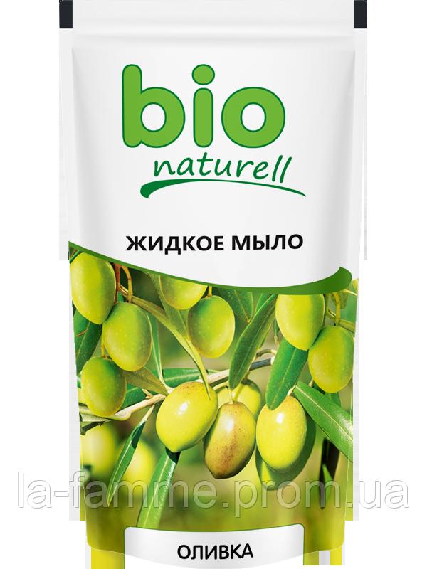 """Жидкое мыло """"Оливки"""" 500мл дой-пак  Bio naturell"""