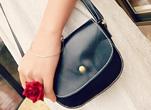 Женская сумка клатч черного цвета