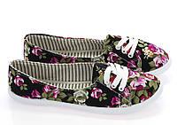Женская спортивная обувь, кеды текстильные на лето