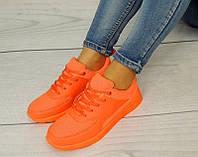 Женская кроссовки, кеды яркие на лето размер 39