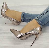 Стильные и удобные женские туфли, лодочки  молодежные на шпильке  размеры 36