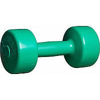 Гантели для фитнеса Титан 3 кг Украина, обрезиненные, фото 1