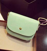 Женская сумка клатч бирюзового цвета