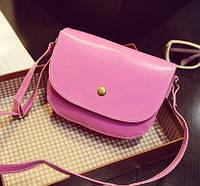 Женская сумка клатч розового цвета, фото 1