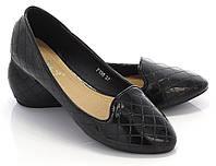 Тулфи, туфли- лодочки женские  Яна черный