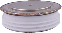 Т133-400-12  400A/1200V  силовой низкочастоный тиристор таблеточного исполнения.