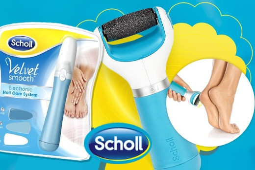 Электрические пилочки Scholl