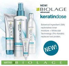 Линия Biolage Keratindose – Кератиновое восстановление волос