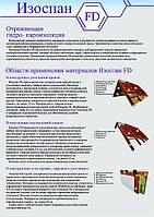 Изоспан FD Отражающая гидро-пароизоляция для кровли