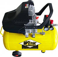 Компрессор Werk BM-2T50  8 атм. 1,5 кВт, вход: 200 л/мин