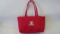 Сумка молодежная стеганая SHANEL Шанель,43*30*16,розовая .Молодежная женская сумка SHANEL Шанель.Сумка стегана