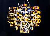 Люстра в оригинальном исполнении с подсветкой