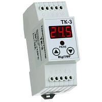 Терморегулятор ТК-3 одноканальный длина датчика 1,5м DigiTOP