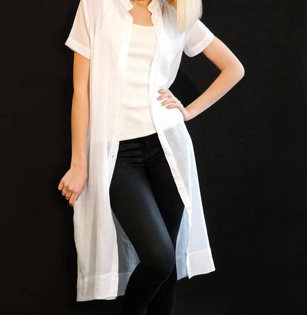 Льняная женская одежда - это уникальный стиль ! 10