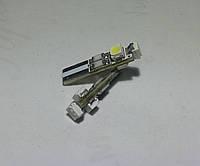 Синяя светодиодная автолампа Т5, 3pcs 1210 circuit