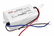 Джерело живлення APV-35-12: AC/DC, IP30, 35W. 84*57*29.5 mm (L*W*H)