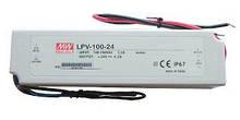 Источник питания LPV-100-24: AC/DC, IP67, 100W. 190*52*37(L*W*H)