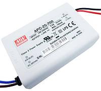 Импульсный драйвер светодиода APC-25-700 (700mA)