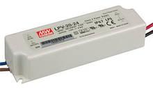 Источник питания LPV-20-24: AC/DC, IP67, 20W