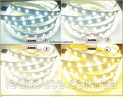 Світлодіодна стрічка White-D-MIX (5630, 120 LED, LUX)