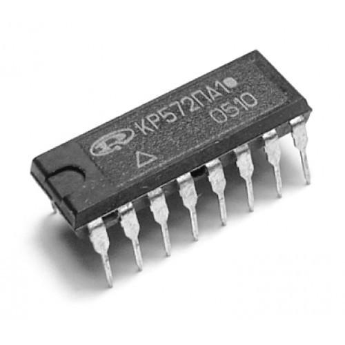 КР572ПА1А DIP16 умножающий цифро - аналоговый преобразователь