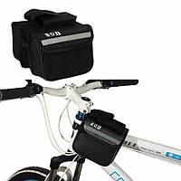 Сумочка для велосипеда на раму