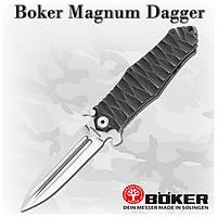 Нож Boker Magnum Dagger (01MB475), 440A, клипса, флипер