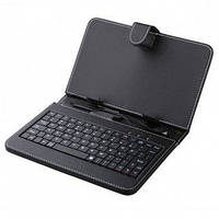 Чехол с клавиатурой для планшета 9.7 дюймов Black (micro Usb), чехол с клавиатурой с Micro USB штекером