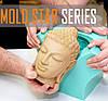 Силикон MoldStar МолдСтар 15 США платиновый, мягкий,жидкий, безусадочный (0.2кг), пробник