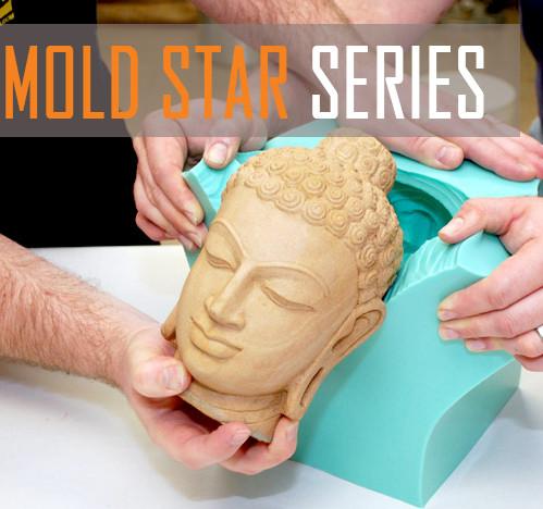 Силикон MoldStar МолдСтар 15 США платиновый, мягкий, жидкий, безусадочный (0.45 кг)